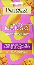 """Духи, Парфюмерия, косметика Пилинг для лица """"Отшелушивание, разглаживание, увлажнение"""" - Perfecta Crazy Mango Smooth & Glow"""