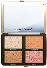 Палетка для макияжа глаз и лица - Too Faced Sugar Peach Wet and Dry Face & Eye Palette — фото N1