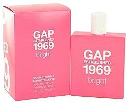Духи, Парфюмерия, косметика Gap Established 1969 Bright - Туалетная вода