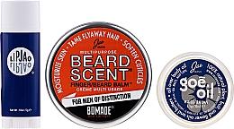 Духи, Парфюмерия, косметика Набор - Jao Brand Suave Salve Pak (beard/balm/18g + b/oil/6.5gr + lip/balm/5gr)