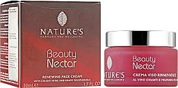 Духи, Парфюмерия, косметика Восстанавливающий крем для лица - Nature's Beauty Nectar Renewing Face Cream
