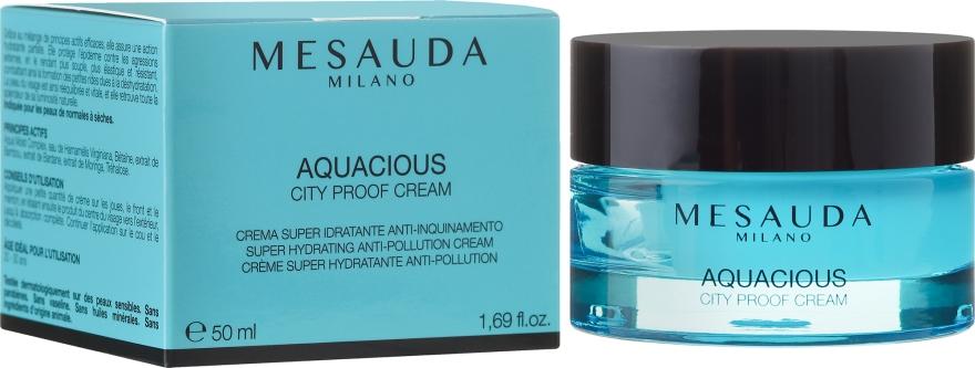 Крем увлажняющий для кожи склонной к сухости - Mesauda Milano Skin Care Aquacious City Proof