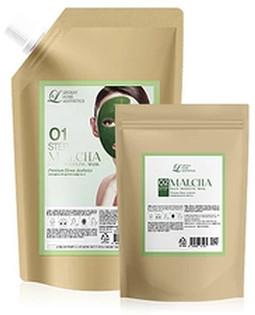 Гелевая альгинатная маска с экстрактом зеленого чая - Lindsay Malcha Magic Modeling Mask