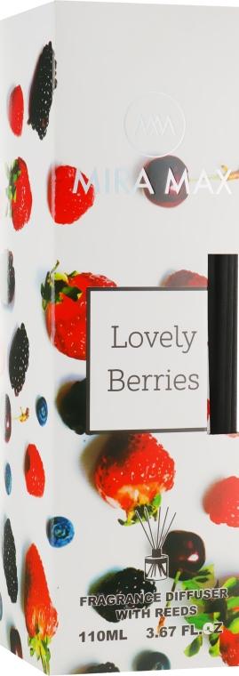 Аромадиффузор - Mira Max Lovely Berries Fragrance Diffuser With Reeds