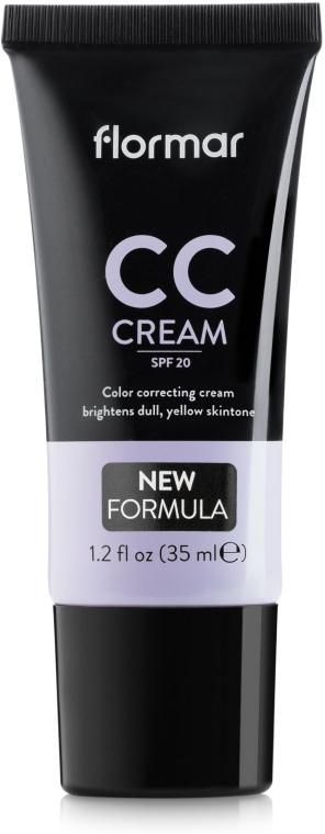 CC-крем для придания естественного вида бледной коже - Flormar CC Cream Anti-Dullness SPF20