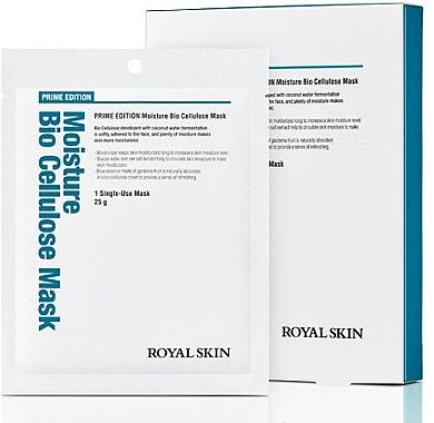 Био-целлюлозная увлажняющая маска для лица - Royal Skin Prime Edition Moisture Bio Cellulose Mask