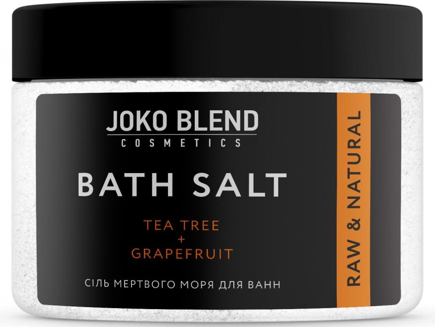 "Соль мертвого моря для ванн ""Чайное дерево-Грейпфрут"" - Joko Blend Bath Salt"