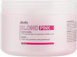 Духи, Парфюмерия, косметика Маска для волос - Mirella Blond Pink Mask