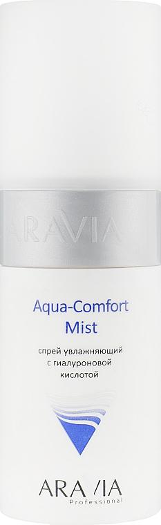 Спрей увлажняющий с гиалуроновой кислотой - Aravia Professional Aqua Comfort Mist