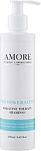 Духи, Парфюмерия, косметика Бессульфатный концентрированный шампунь с фитокератином для восстановления поврежденных волос - Amore Phytokeratine Keratine Therapy Shampoo