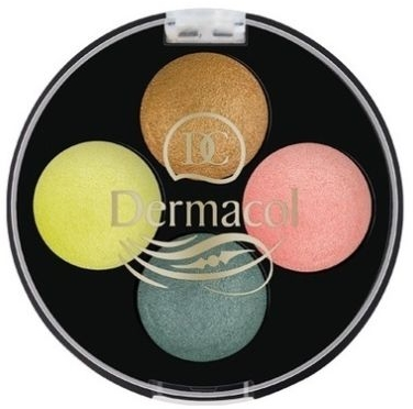 Тени для век - Dermacol Quattro Baked Eye Shadow — фото N1