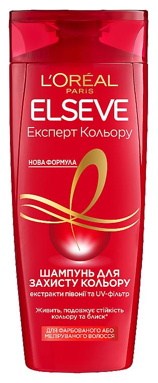Шампунь для окрашенных или мелированных волос - L'Oreal Paris Elseve Shampoo