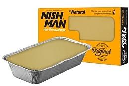 Духи, Парфюмерия, косметика Воск для депиляции - Nishman Hair Removal Wax Natural