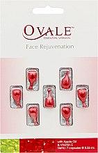 Духи, Парфюмерия, косметика Омоложение кожи лица с витамином Е и маслом семян яблок - Ovale Face Rejuvenanation Oil