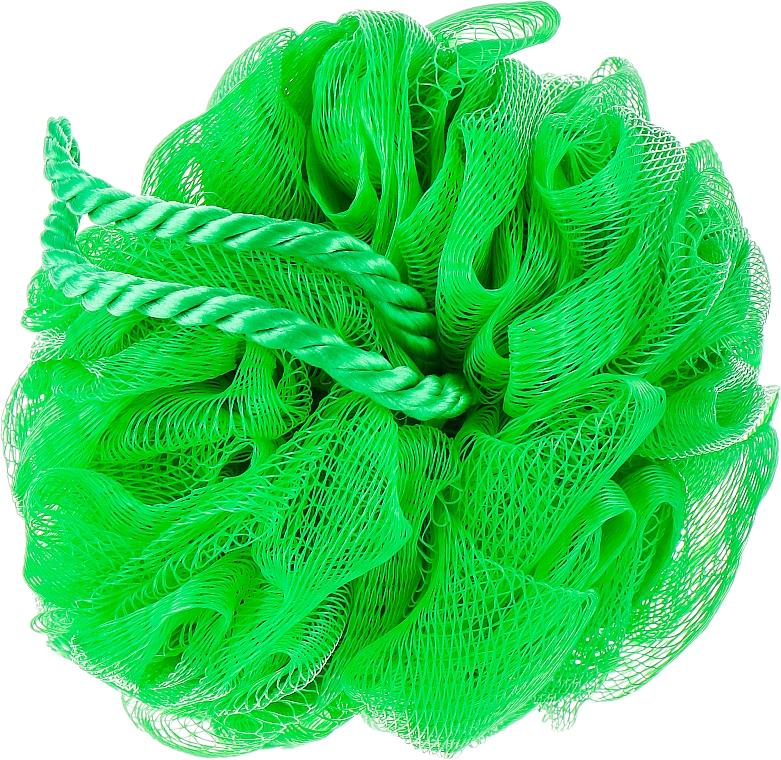 Мочалка для душа, зеленая - Titania
