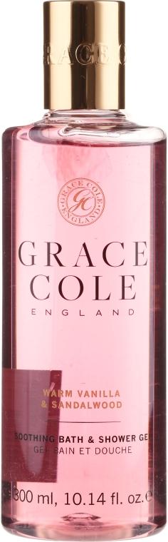 """Гель-пена для душа """"Ваниль и сандаловое дерево"""" - Grace Cole Warm Vanilla & Sandalwood Soothing Bath & Shower Gel"""