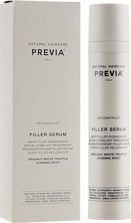 Филлер-сыворотка для волос - Previa White Truffle Filler Serum