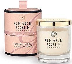 Духи, Парфюмерия, косметика Ароматизированная свеча - Grace Cole Boutique Ginger Lily & Mandarin Fragrant Candle