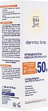 Духи, Парфюмерия, косметика Гипоалергенный лосьон для загара - DAX Sun Dermo Line Body Lotion SPF 50