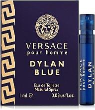 Духи, Парфюмерия, косметика Versace Dylan Blue Pour Homme - Туалетная вода (пробник)