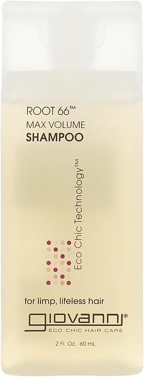 Шампунь для максимального объема - Giovanni Root 66 Max Volume Shampoo