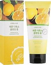 Духи, Парфюмерия, косметика Лимонная детокс пенка - Lebelage Lemon Detox Cleansing Foam