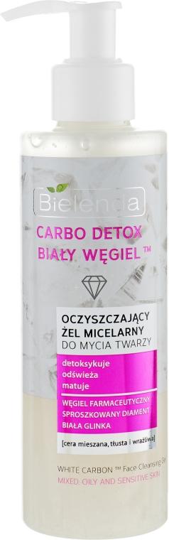 Очищающий мицеллярный гель - Bielenda Carbo Detox Cleansing Micellar Gel