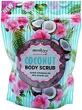 Духи, Парфюмерия, косметика Скраб для тела с кокосом - Derma V10 Exfoliating Coconut Body Scrub