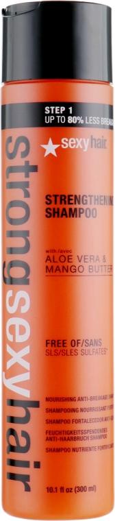 Шампунь для прочности волос - SexyHair StrongSexyHair Color Safe Strengthening Shampoo