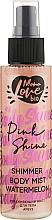 "Духи, Парфюмерия, косметика Мист для тела ""Арбуз"" - MonoLove Bio Shimmer Body Mist Watermelon Pink Shine"