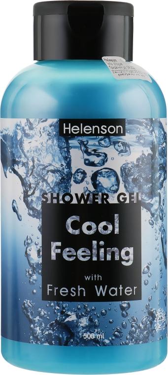"""Гель для душа """"Пресная вода"""" - Mediterraneum Helenson Shower Gel Cool Feeling With Fresh Water"""