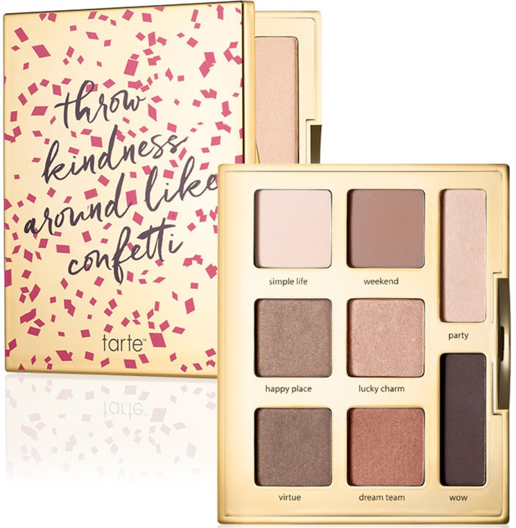 Палетка теней для век - Tarte Cosmetics Double Duty Beauty Amazonian Clay Eyeshadow Palette