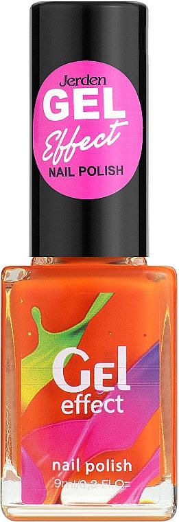 Лак для ногтей с гелевым эффектом - Jerden Gel Effect Nail Polish