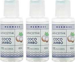 Духи, Парфюмерия, косметика Набор - Mermade Coco Jambo (hand/gel/3x80ml)