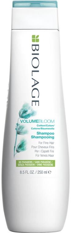 Шампунь для объема для тонких волос - Biolage Volumebloom Cotton Shampoo