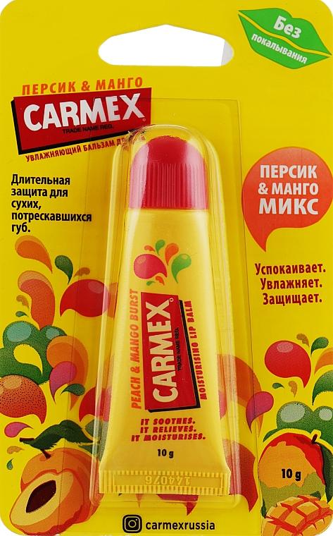 "Бальзам для губ ""Персик и манго"" - Carmex Lip Balm Peach & Mango Burst"