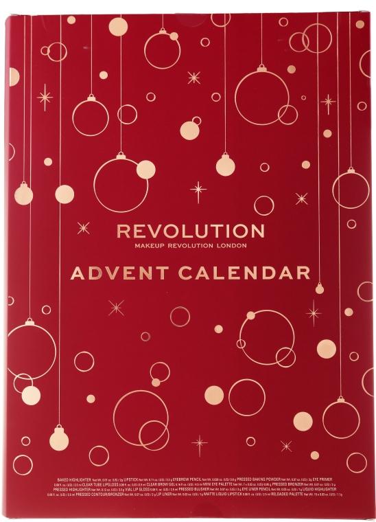 Набор для макияжа - Makeup Revolution Advent Calendar 2019