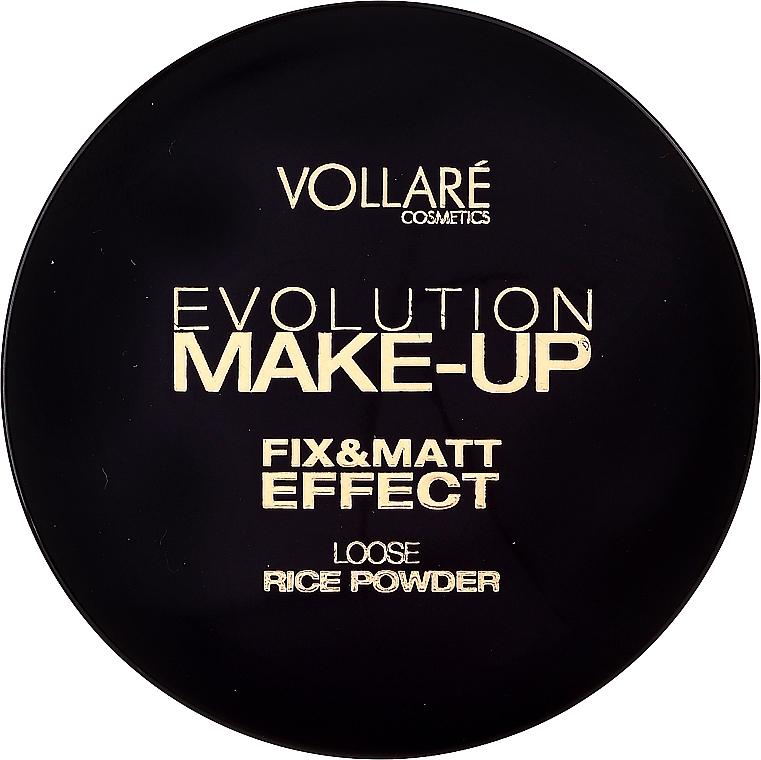 Пудра рисовая рассыпчатая - Vollare Evolution Make-Up Loose Rice Powder