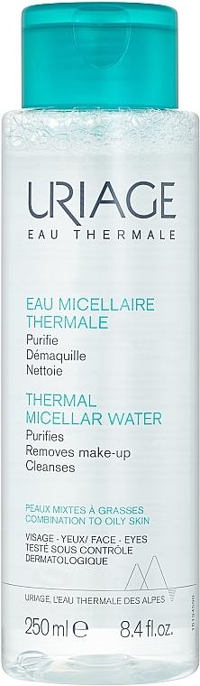 Мицеллярная вода для жирной и комбинированной кожи - Uriage Eau Micellaire Thermale