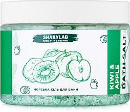 "Духи, Парфюмерия, косметика Соль морская для ванн ""Kiwi & Apple"" - SHAKYLAB Natural Bath Salt"
