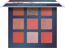 Духи, Парфюмерия, косметика Палетка теней для век, 9 цветов - Beauty Glazed 9 Colors Eyeshadow Palette