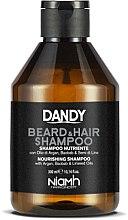 Духи, Парфюмерия, косметика Шампунь для волос и бороды - Niamh Hairconcept Dandy Beard & Hair Shampoo