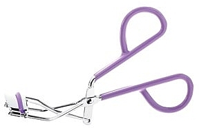 Щипчики для завивки ресниц, фиолетовые - Globos Professional Line