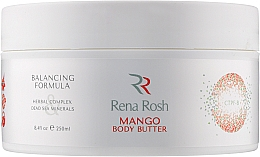 "Духи, Парфюмерия, косметика Масло для тела ""Манго"" - Rena Rosh Mango Body Butter"