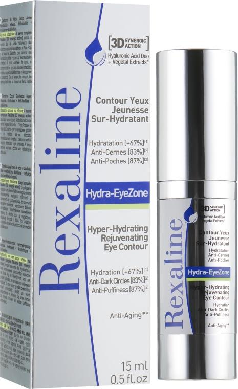 Суперувлажняющий крем для кожи вокруг глаз - Rexaline Hydra 3D Hydra-Eye Zone Cream