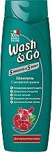 Духи, Парфюмерия, косметика Шампунь с экстрактом граната для окрашенных волос - Wash&Go