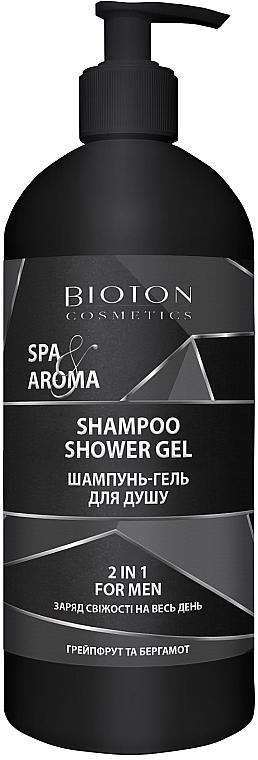 Мужской шампунь-гель для душа 2в1 - Bioton Cosmetics Spa & Aroma Men Shampoo Shower Gel
