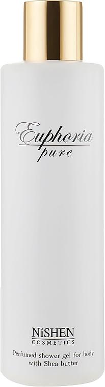 """Парфюмированный гель для душа """"Euphoria"""" - Nishen Euphoria Parfumed Gel For Body With Shea Butter"""