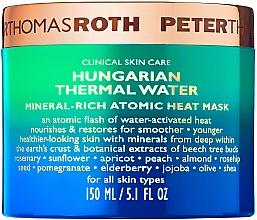 Духи, Парфюмерия, косметика Антивозрастная маска для лица - Peter Thomas Roth Hungarian Thermal Water Mineral-Rich Atomic Heat Mask