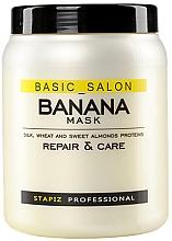 Духи, Парфюмерия, косметика Маска для волос с экстрактом банана - Stapiz Basic Salon Placenta